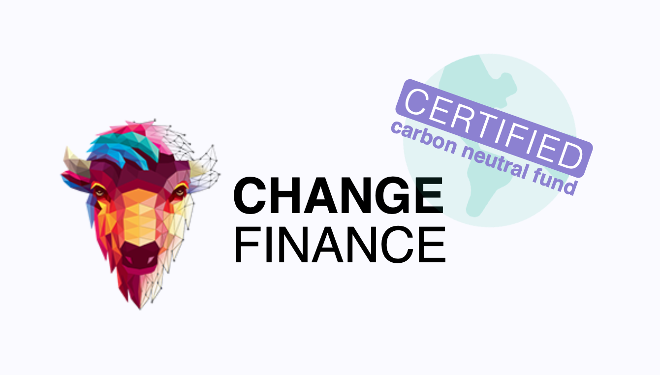 Announcing the first Certified Carbon Neutral Fund on Ethos: CHGX