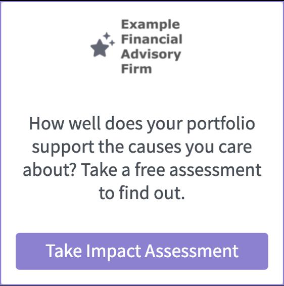 Assessment Widget